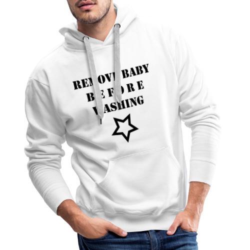 removebaby - Mannen Premium hoodie
