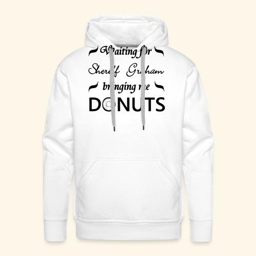 Sheriff Graham Donuts - Men's Premium Hoodie