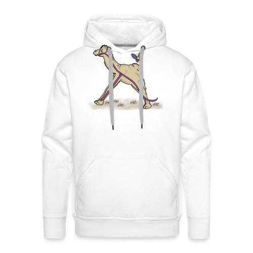 Lambda-Camel T-Shirt Männer - Männer Premium Hoodie
