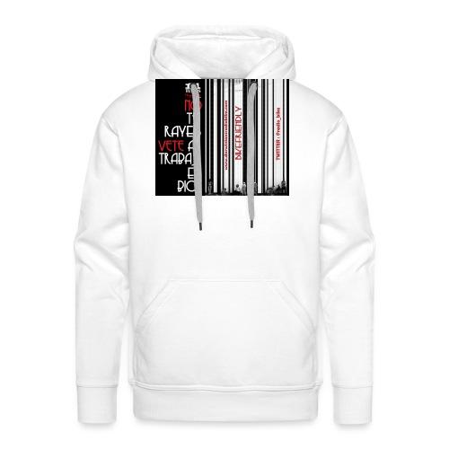041 Hacer las paces - Sudadera con capucha premium para hombre