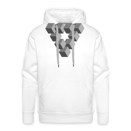 Illusions - Sweat-shirt à capuche Premium pour hommes