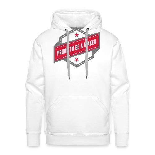 logo Vintage Proud to be a Maker - Sweat-shirt à capuche Premium pour hommes