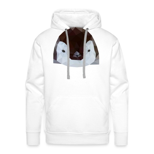 Pinguin Baby Polygon Art - Männer Premium Hoodie