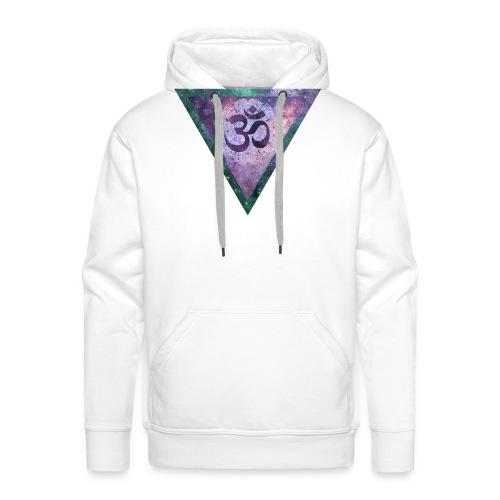 Galaxy Aum Triangle - Men's Premium Hoodie