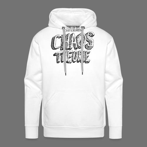 Chaos Theory (musta) - Miesten premium-huppari