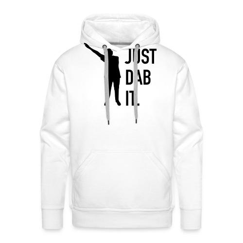 Just dab it – Ing-Britt - Premiumluvtröja herr