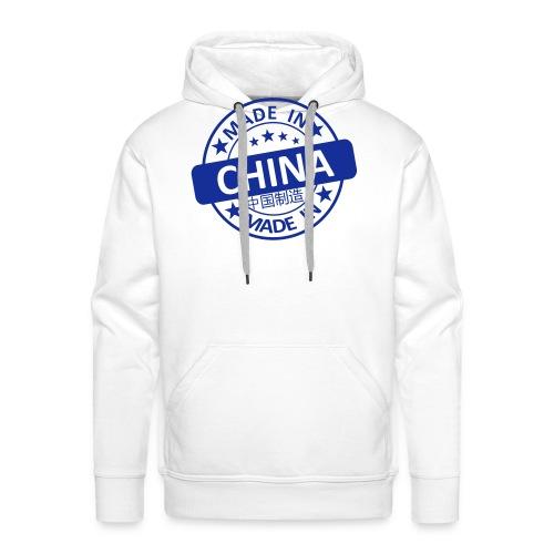 Made In China Stempel - Männer Premium Hoodie