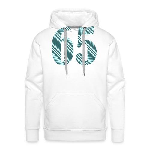 65WAVE - Herre Premium hættetrøje