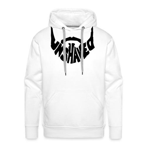 unshaved_logo - Männer Premium Hoodie