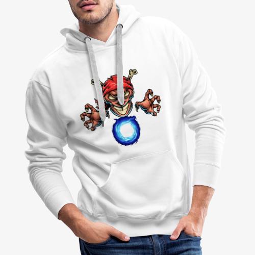 Magicien Pirate - Sweat-shirt à capuche Premium pour hommes