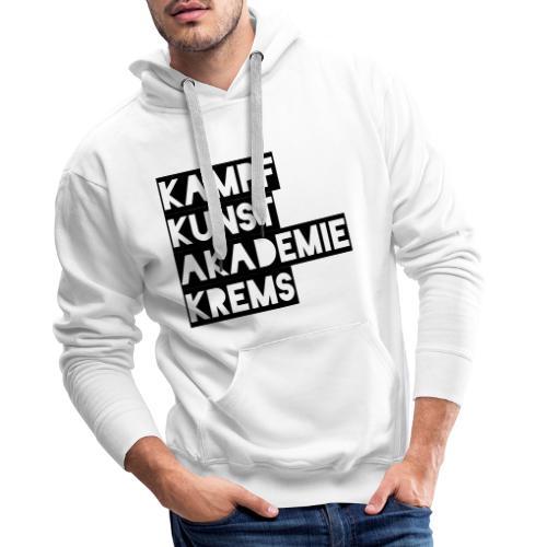 KKA 2016 lifestyle back2 - Männer Premium Hoodie