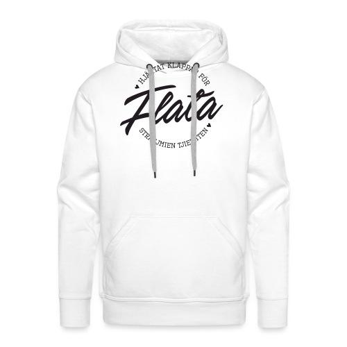 Hjärtat klappar för Flata - Premiumluvtröja herr