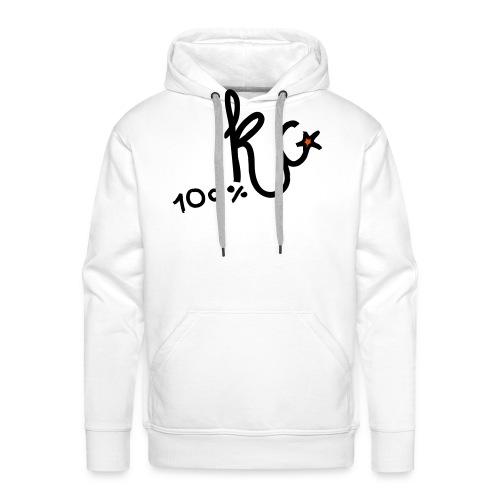 100%KC - Mannen Premium hoodie