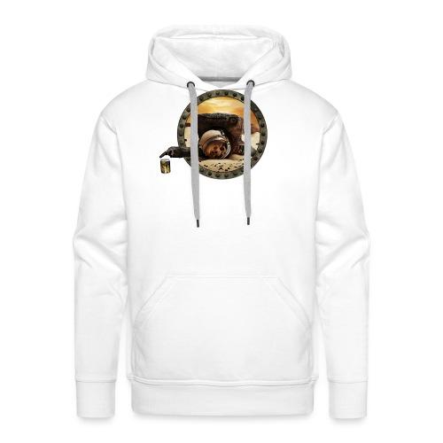 Coup de mou ? (texte personnalisable) - Sweat-shirt à capuche Premium pour hommes
