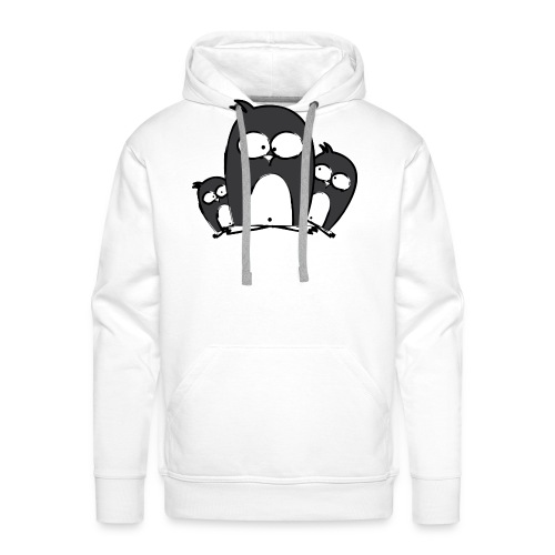 pinguine_png - Männer Premium Hoodie