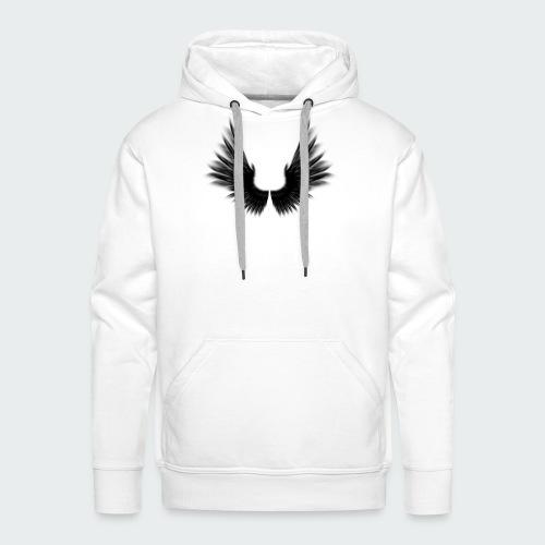 Dark Wings - Männer Premium Hoodie
