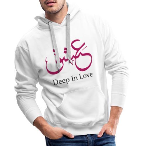 Eshiq , Deep In Love - Männer Premium Hoodie