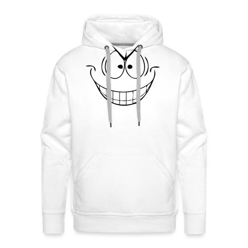 Grijns - Mannen Premium hoodie