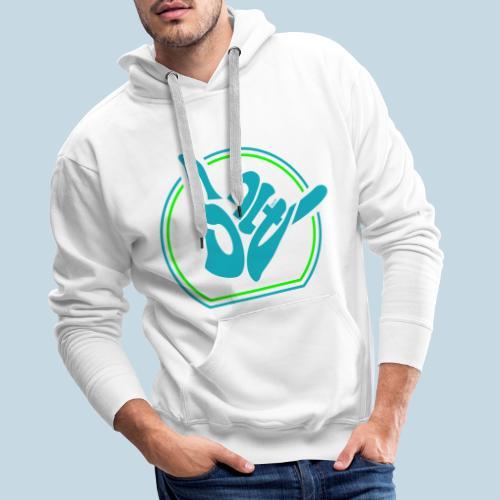 Handzeichen Shaka - Männer Premium Hoodie