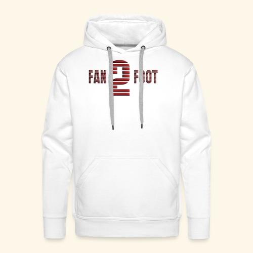 fanfoot - Sweat-shirt à capuche Premium pour hommes