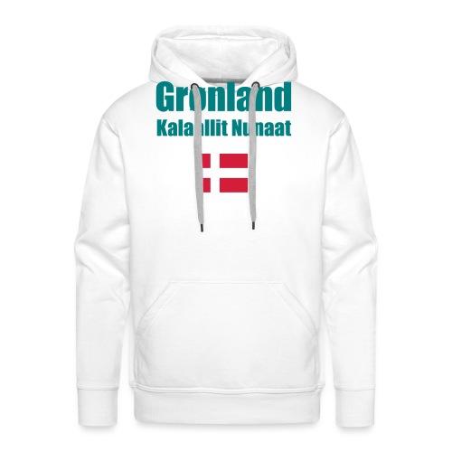 Grønland Expedition - graues Survival Shirt - Männer Premium Hoodie