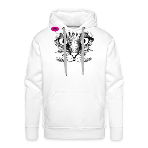 kattegezicht vdh - Mannen Premium hoodie