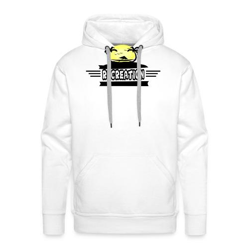 Funny - Sweat-shirt à capuche Premium pour hommes