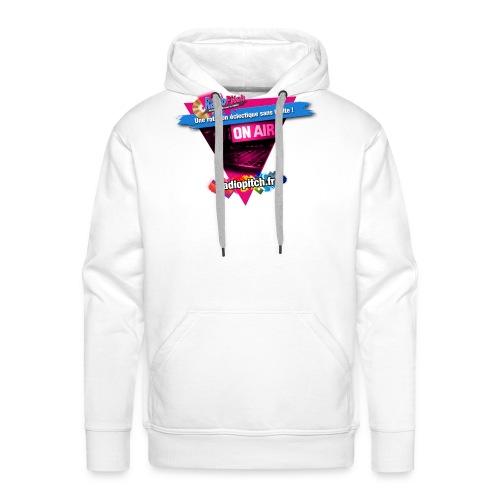 logo radipitch 2021 triangle - Sweat-shirt à capuche Premium pour hommes