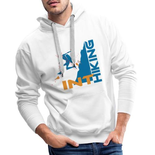 INT HIKING Running Downhill - Männer Premium Hoodie