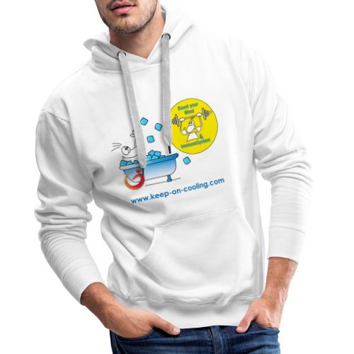 cool and boost - Männer Premium Hoodie