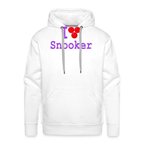 ilovesnooker - Men's Premium Hoodie