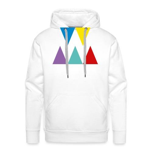 Logo We are les filles - Sweat-shirt à capuche Premium pour hommes