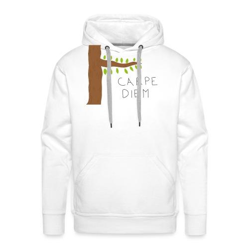 Carpe diem - Sweat-shirt à capuche Premium pour hommes