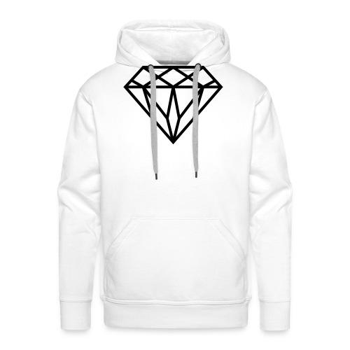 Diamond Graphic // Diamant Grafik - Männer Premium Hoodie