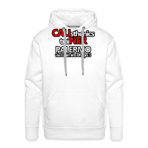 Caliner Palermo T-shirt - Felpa con cappuccio premium da uomo