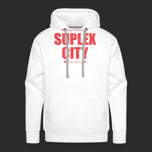 Suplex City Mens T-Shirt - Men's Premium Hoodie