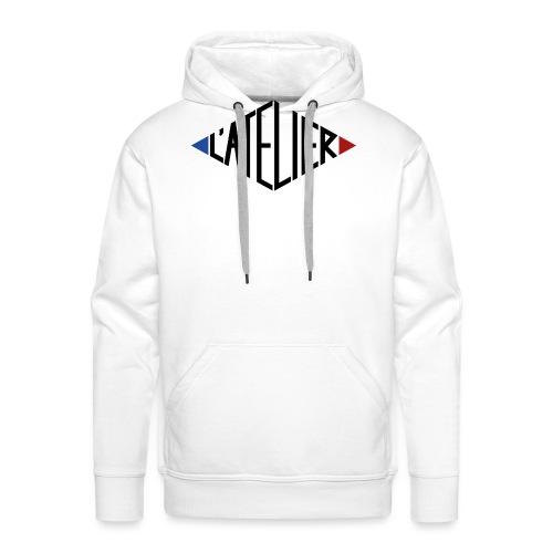 Logo L atelier - Sweat-shirt à capuche Premium pour hommes