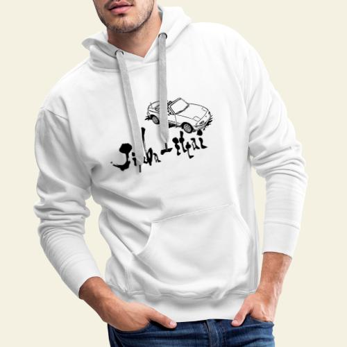 Jinba Ittai - Herre Premium hættetrøje