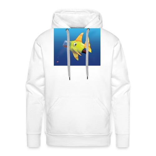 Greedy Fish - Sweat-shirt à capuche Premium pour hommes
