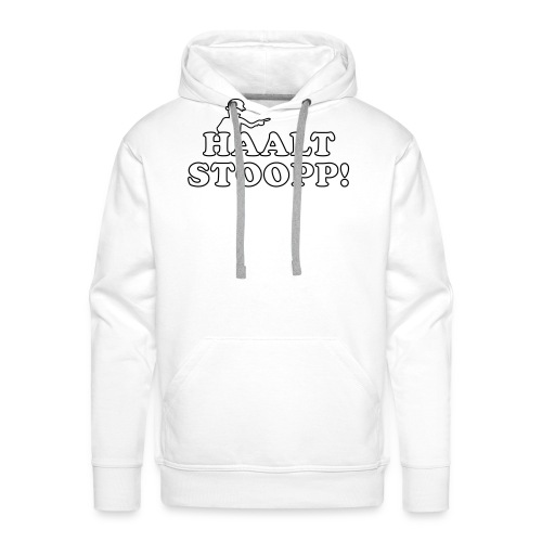 Halt Stopp 3 - Männer Premium Hoodie
