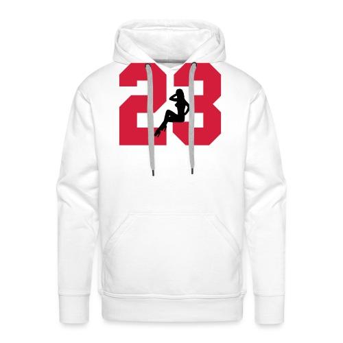 Sexy Dreiungzwanzig / 23 - Männer Premium Hoodie