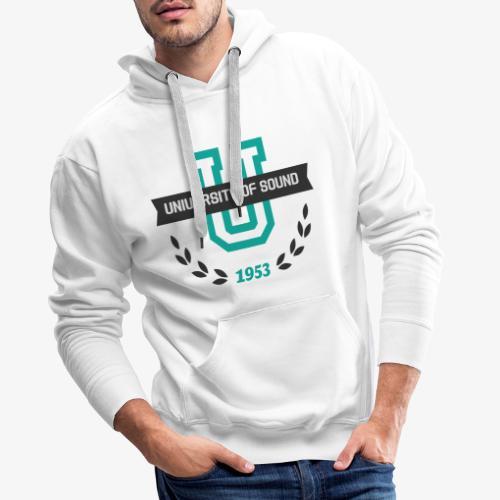 University 001 - Sudadera con capucha premium para hombre