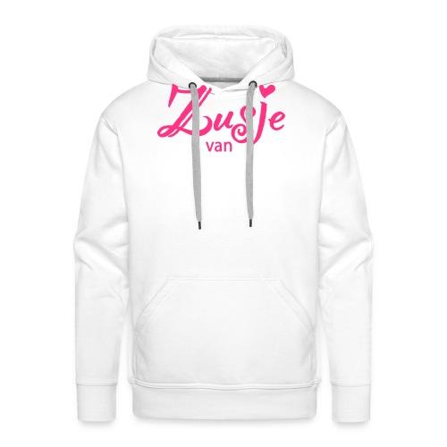 zusje van - Mannen Premium hoodie