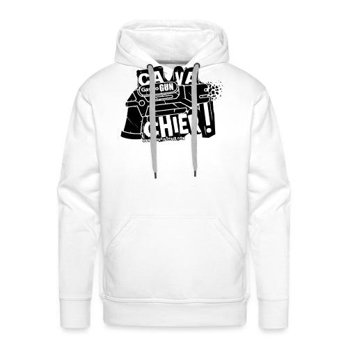 gastrogun - Sweat-shirt à capuche Premium pour hommes