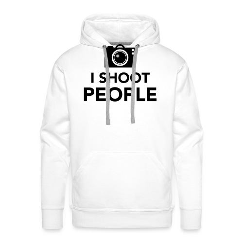 i-shoot-people - Mannen Premium hoodie