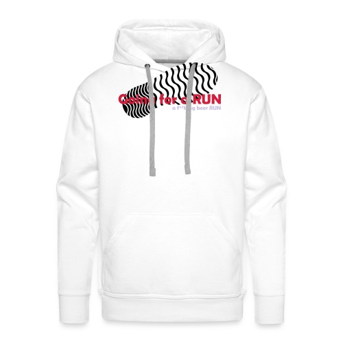 Going for a run - Men's Premium Hoodie