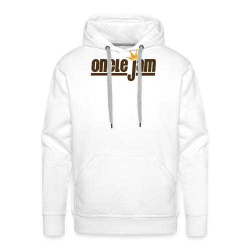 Oncle Jam horizontal brun - Sweat-shirt à capuche Premium pour hommes