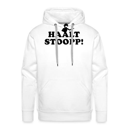 Halt Stopp - Männer Premium Hoodie