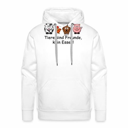 Tiere-sind-Freunde - Männer Premium Hoodie
