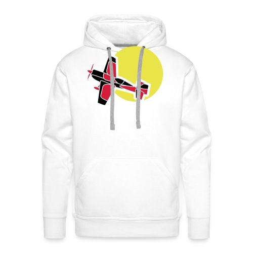Flugzeug Jet Airplane Sky Himmel Sun Sonne Sport - Männer Premium Hoodie